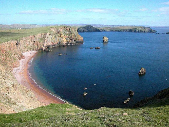 Shetland-Reise 2002 (Shetland's Westküste)