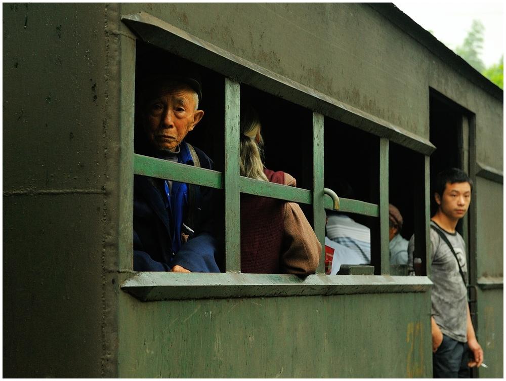 Shibanxi 2012 - Die Fahrgäste