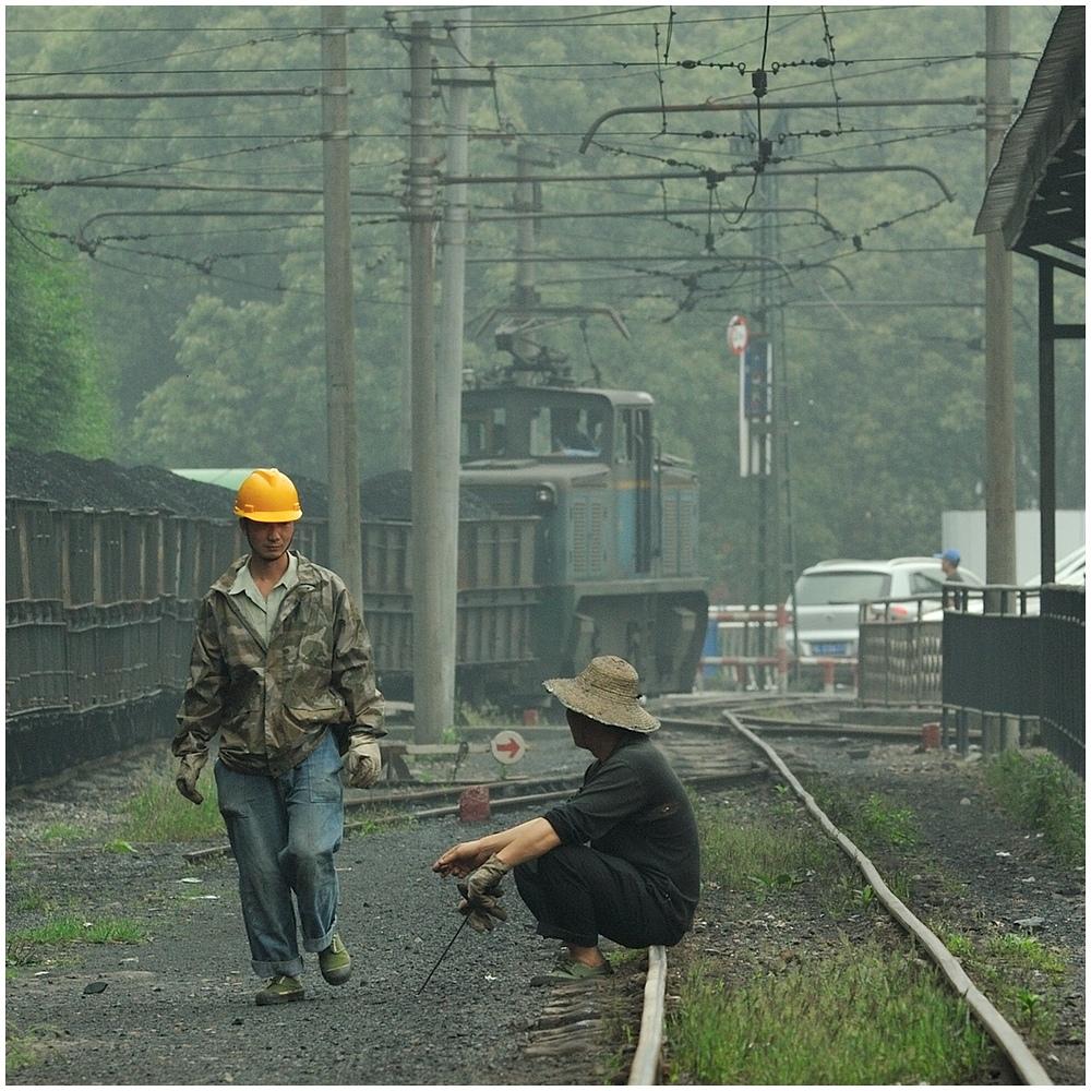 Shibanxi 2012 - Rangierpause