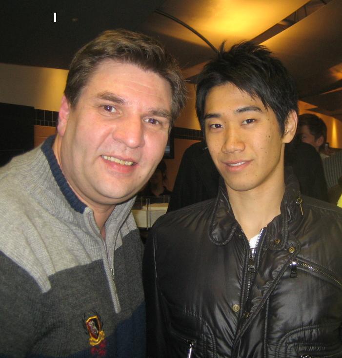 Shinji Kagawa mit mir