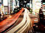 Shinjuku Night Traffic