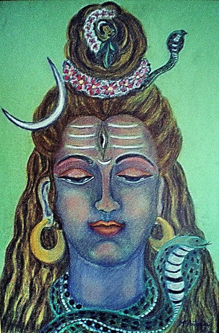 """""""Shiva"""" Dibujo realizado por Mª Antonia Rubio Maeso"""