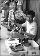 Shoemaker in Lahad Datu