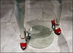 Shoes for mad women or the  power of fashion.