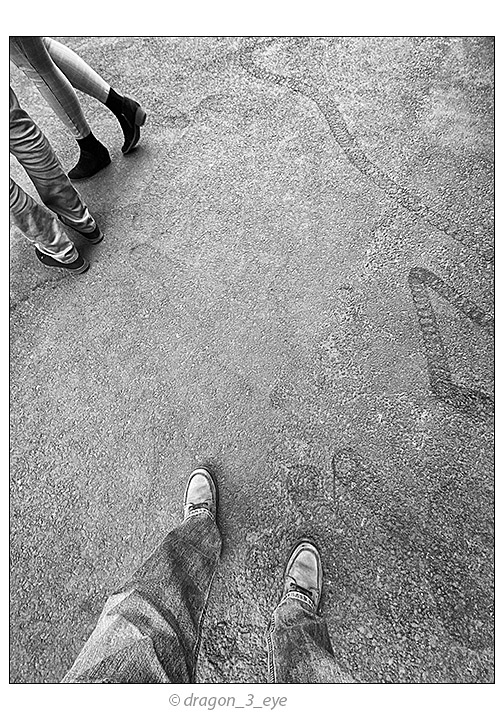 Shoes In Lines