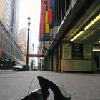shoes in the city