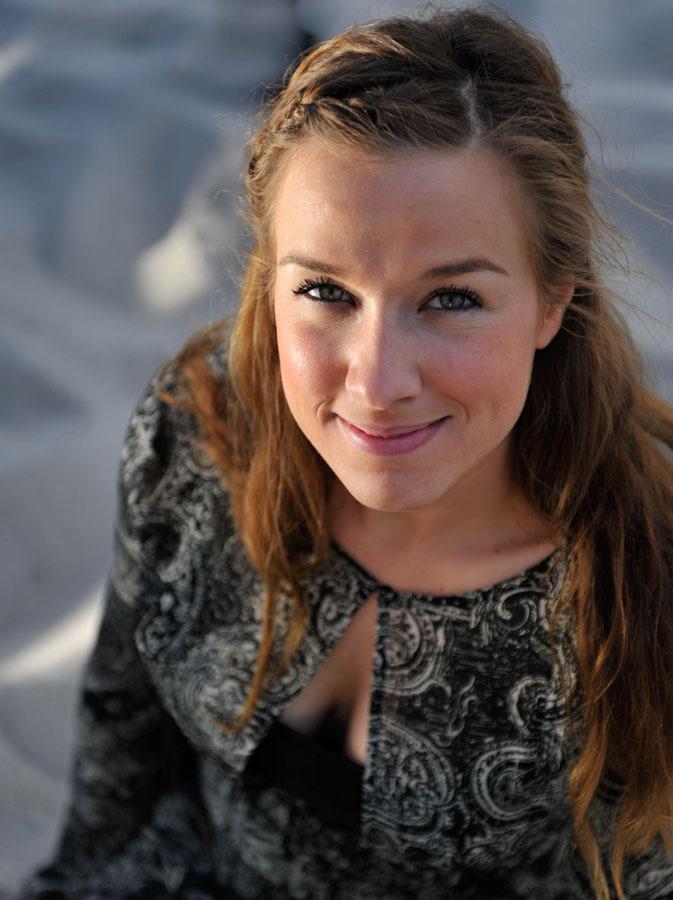 Shooting in Zingst - Model Sarah