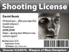 Shooting License