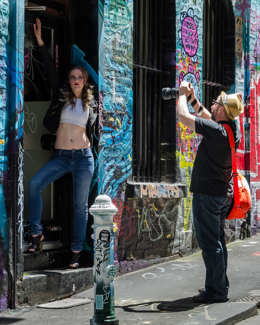 Shooting Melbourne