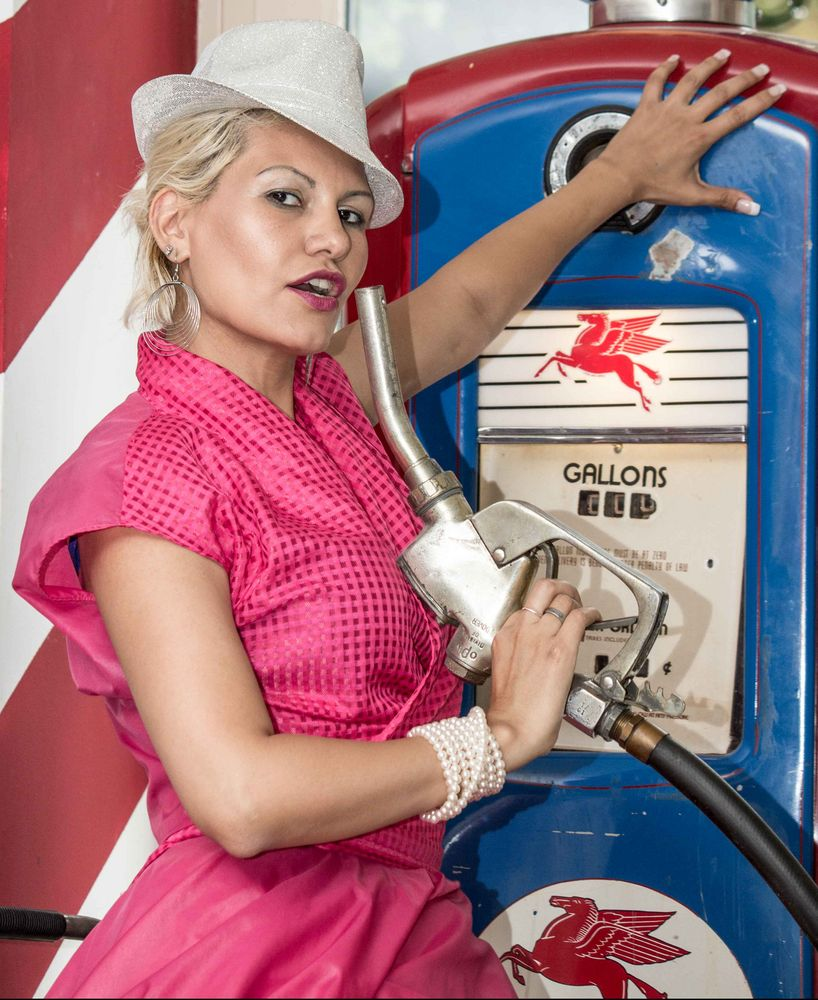 Shooting mit Kim in Route 66