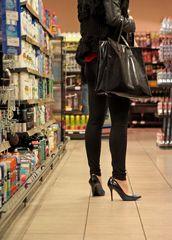* shopping in heels *