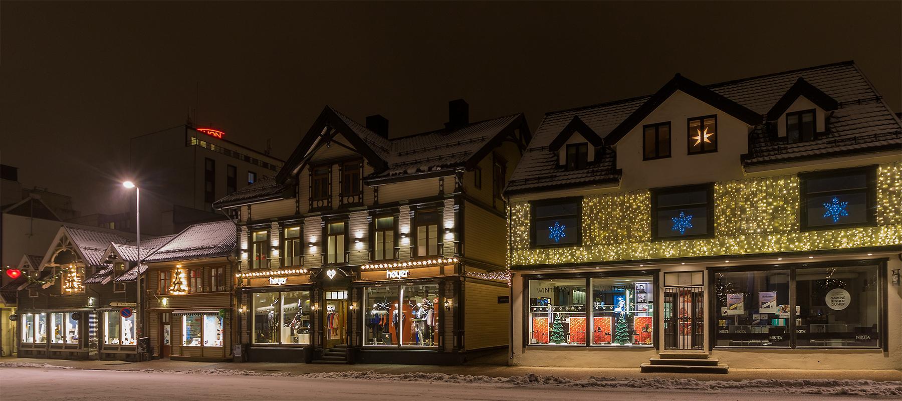 Shoppingmeile in Tromsö 2
