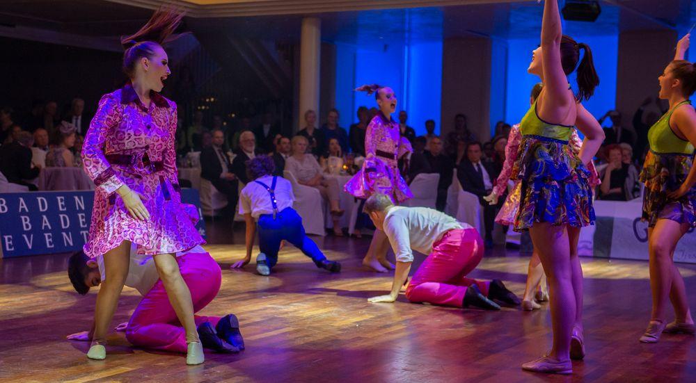 Showformation Ragazzi mit  der Choreografie Cinema Night