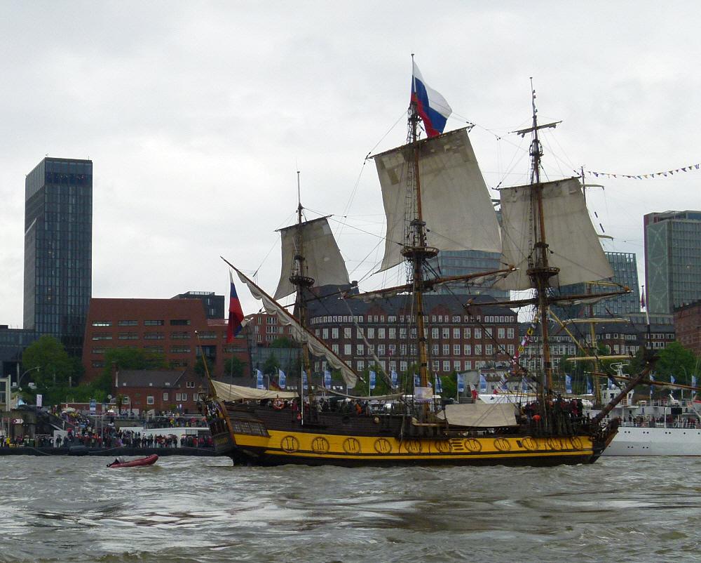 Shtandart   -   Segelschiff aus ST. Petersburg