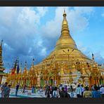 Shwedagon am Abend