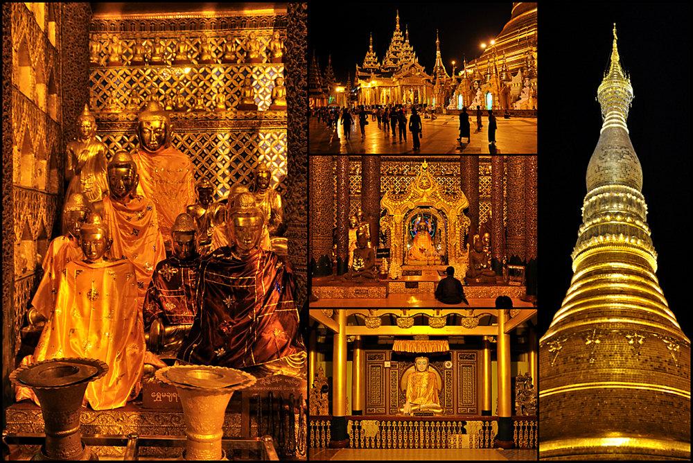 Shwedagon-Collage