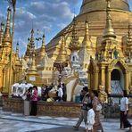 Shwedagon Pagode Myanmar (Burma)