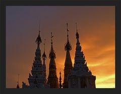 Shwedagon Sunset