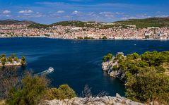 Sibenik, Stadtansicht, Dalmatien, Kroatien