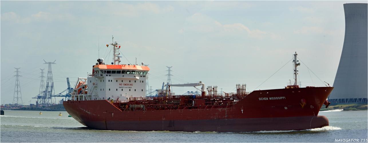 SICHEM MISSISSIPPI / Oil/chemical Tanker / Schelde / Antwerpen