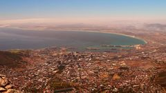 Sicht auf Capetown vom Table Mountain