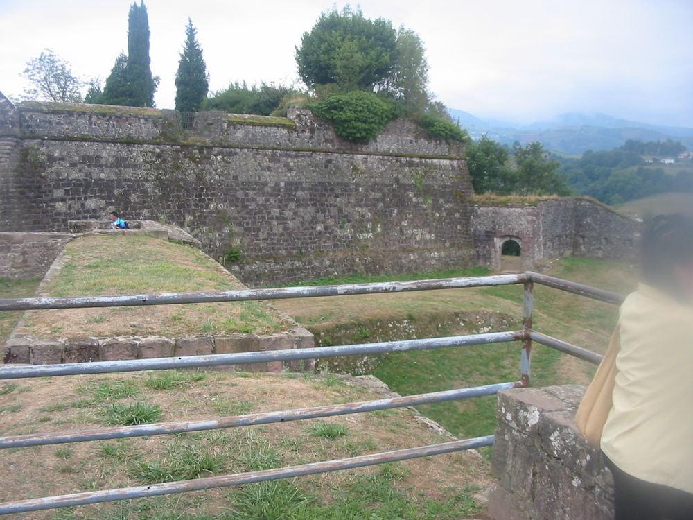 Sicht auf der Burg