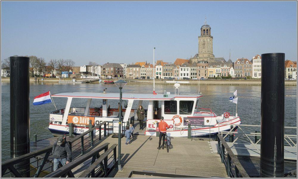 Sicht auf Deventer