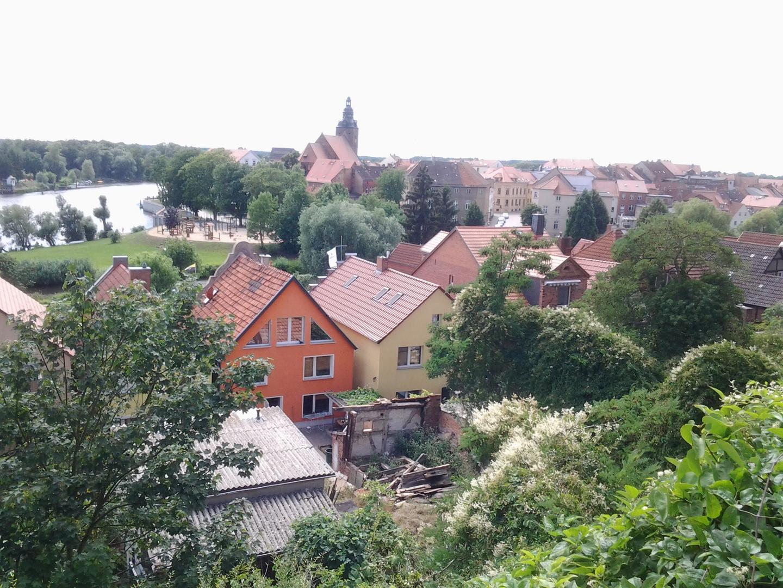 Sicht auf Havelberg