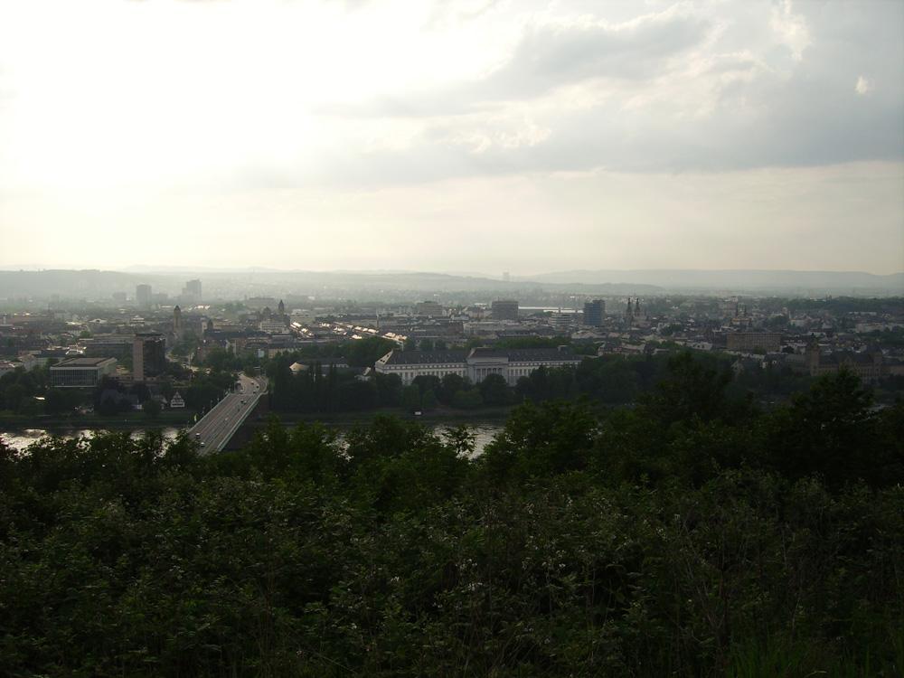 sicht auf Koblenz