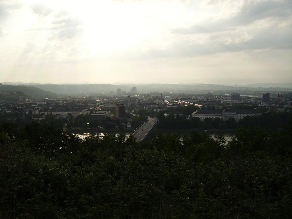 sicht auf Koblenz die Zweite