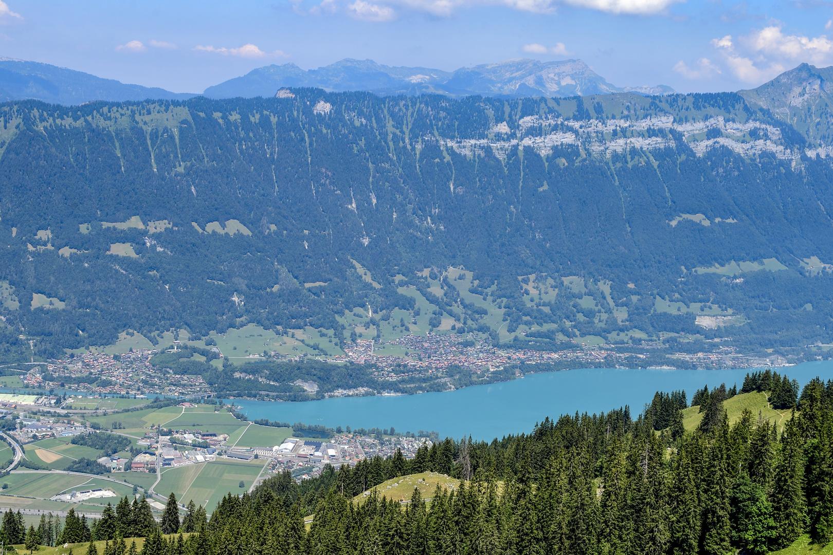 Sicht Interlaken-Ost_Brienzersee_