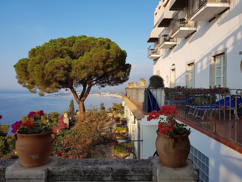 sicilianischer Ausblick