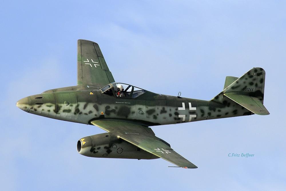 Sie fliegt wieder, die ME 262