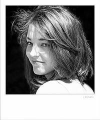 - sie hat tolles Haar -