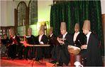 Sie sangen und begleiteten die Derwische mit ihren Instrumenten