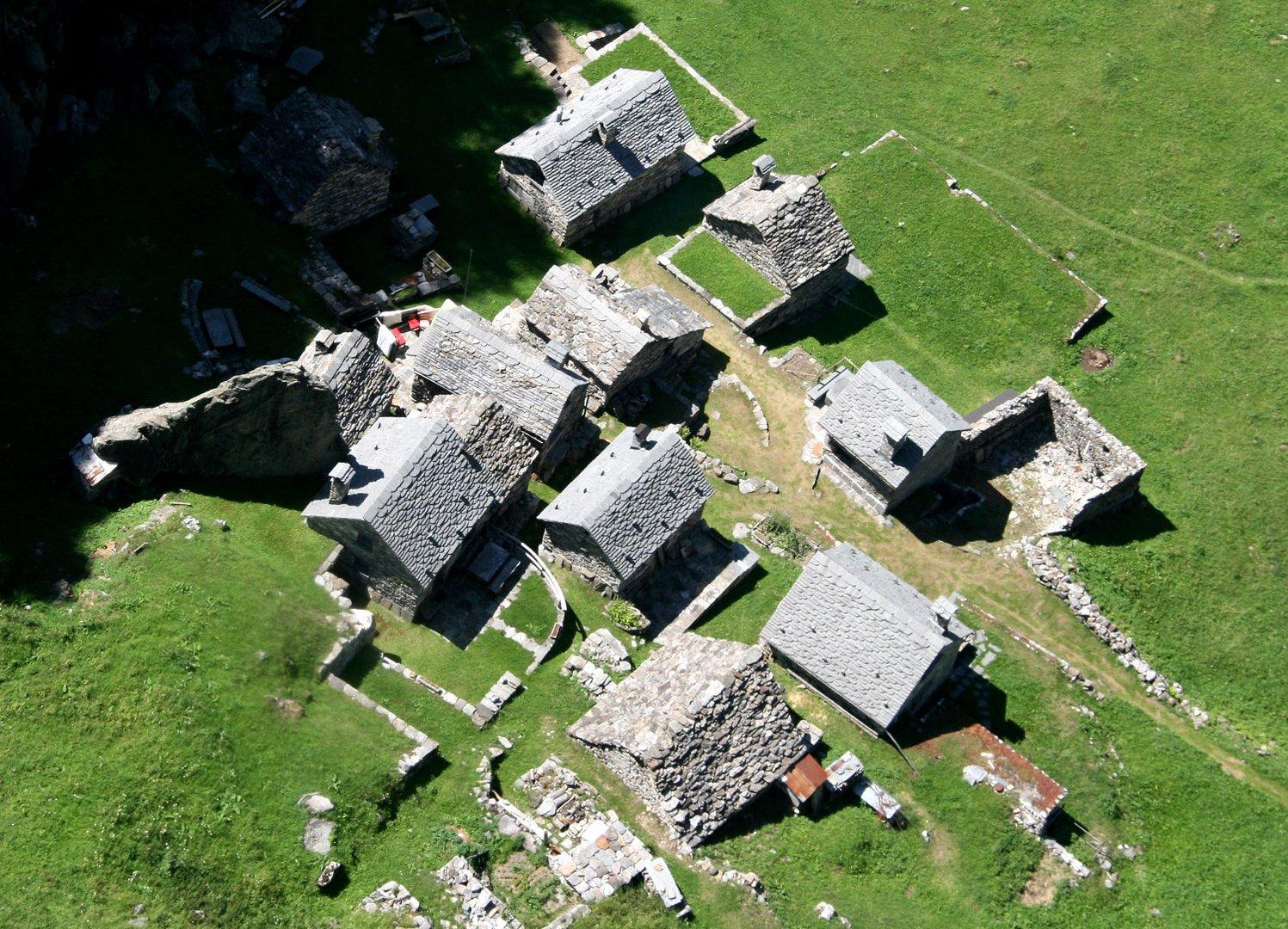 Siedlung Campo im Val Bavona (San Carlo)
