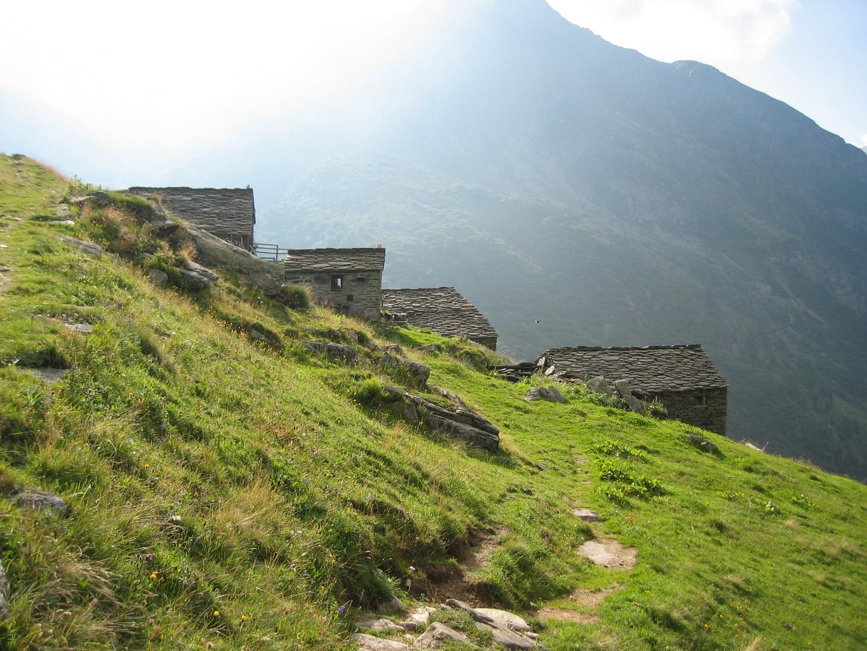 Siedlung im Wallis