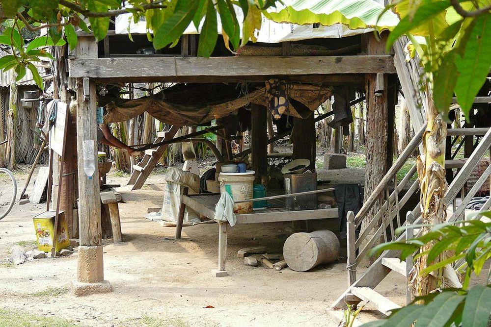 Siedlung in Angkor