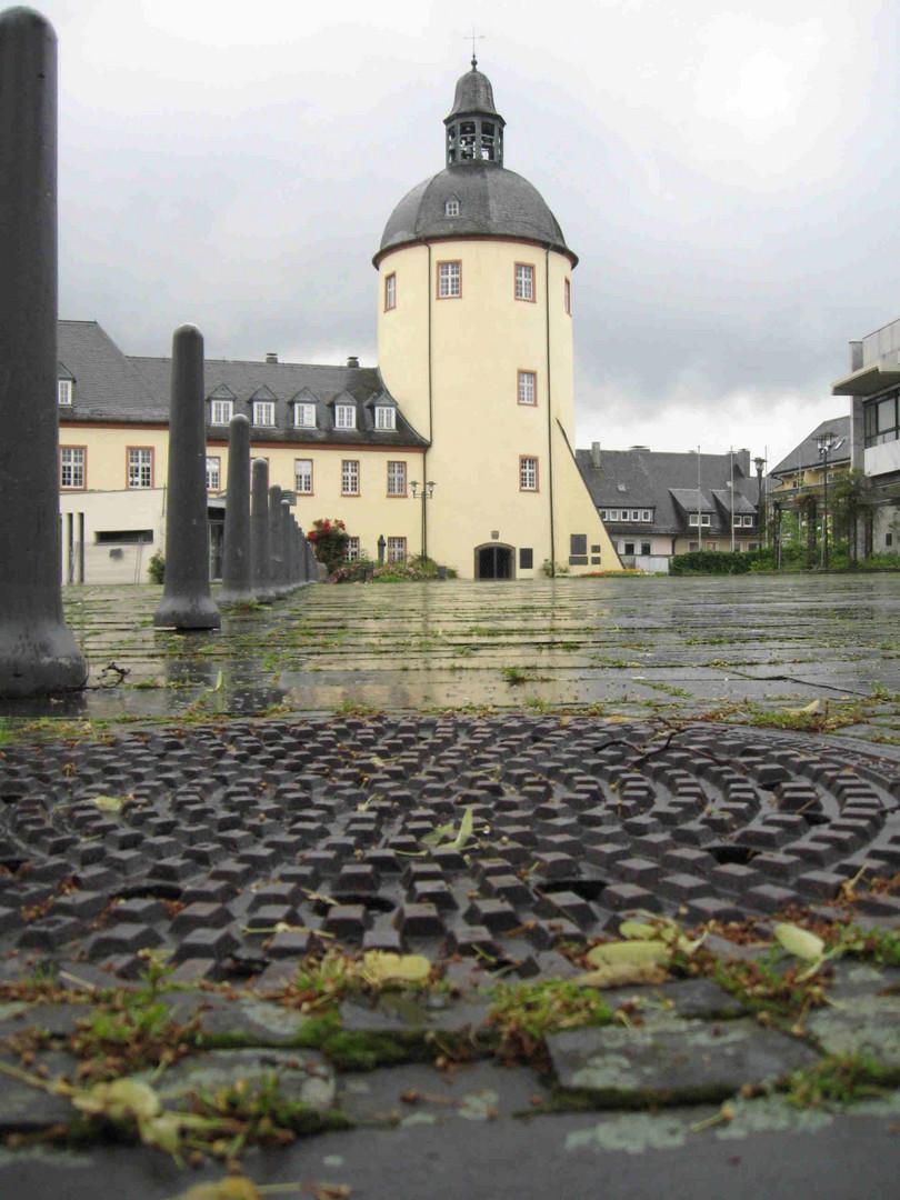 Siegen, am Schloßplatz