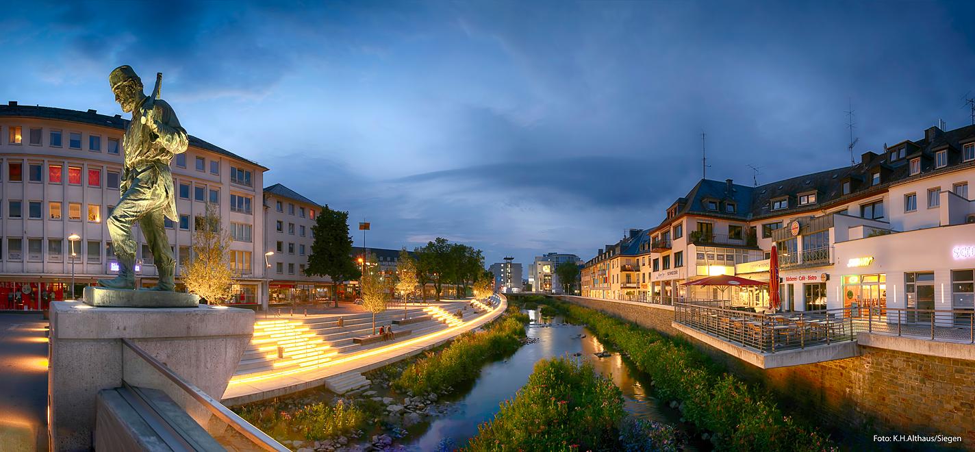 Siegen neues siegufer foto bild world panorama architektur bilder auf fotocommunity - Architektur siegen ...