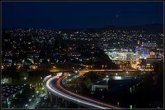 Siegen - Rubens Town in the Nacht