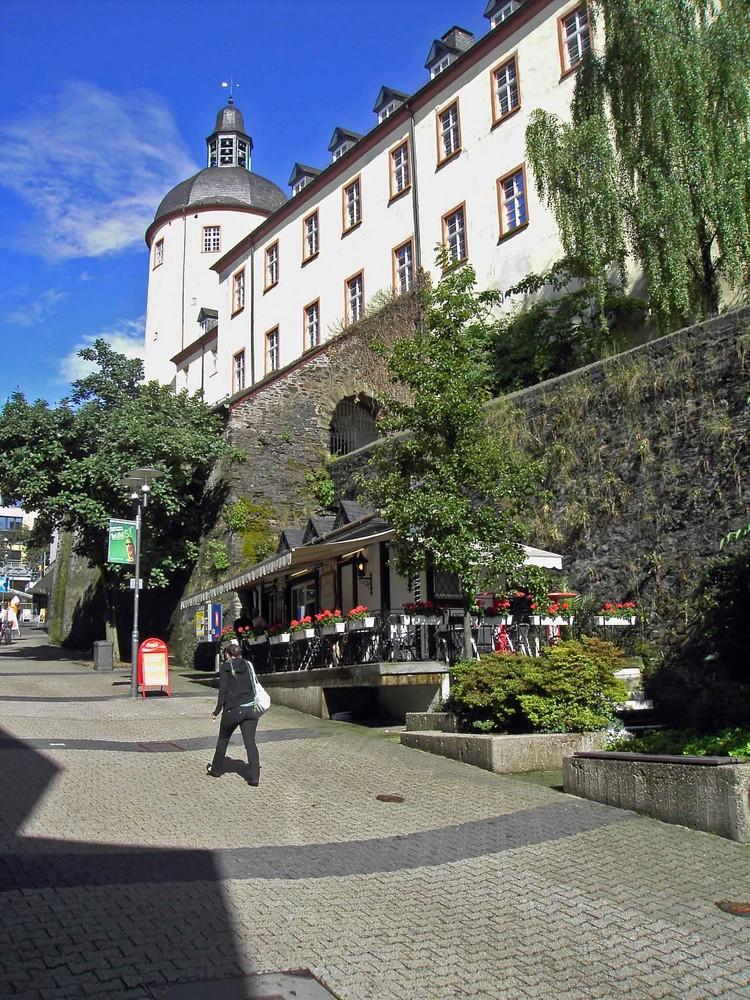 Siegen unteres schloss dicker turm foto bild architektur schl sser burgen profanbauten - Architektur siegen ...