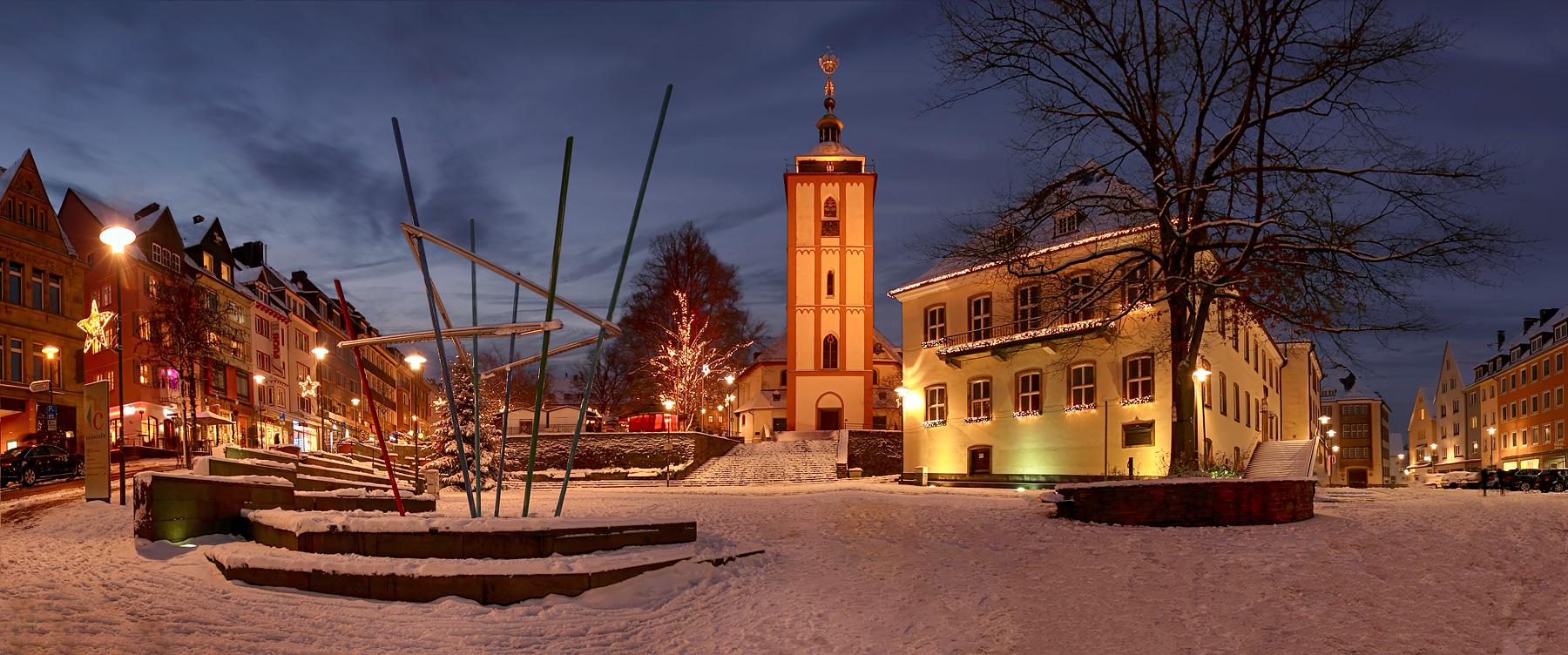 Siegen zur weihnachtszeit foto bild weihnachten architektur versteckt bilder auf fotocommunity - Architektur siegen ...