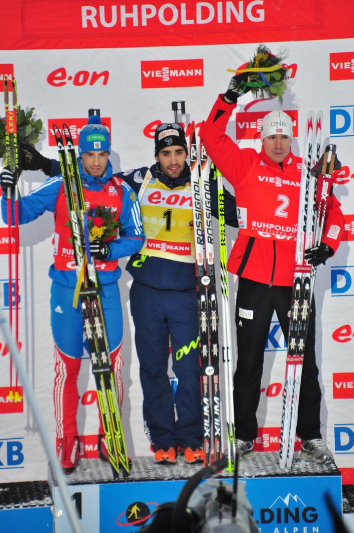 Massenstart Biathlon Heute
