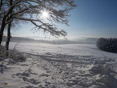 Siegerland bei -12°C