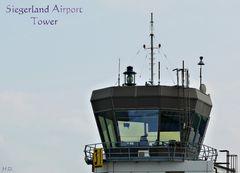 Siegerland Flughafen-Tower