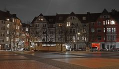 Siegfriedsplatz mit Straßenbahndepot