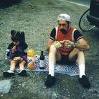 Sieglinde und Opa Jean