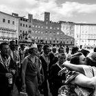 Siena - Gioia per la vittoria dell'Oca