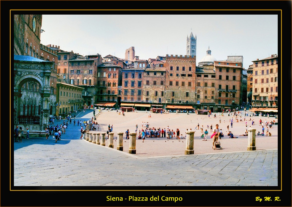 Siena - Piazza del Campo.